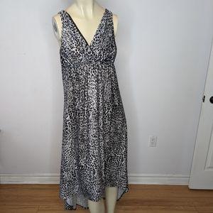 NWD - leopard maxi dress